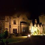 The hall at night