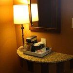 Cute little coffee nook in room