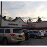 Nestled in a strip mall, next to Subway. May not be the atmosphere you're looking for...