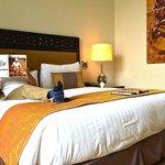 Room at the Fairmont Makati