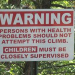 One of the many warning signs.