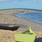 Vista da Praia em Frente a Pousada