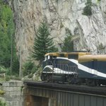 Rocky Mountaineer engine