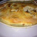Fried chicken thigh pot pie!!! Amazing!!!