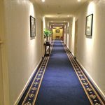 Very clean and pleasant corridor on the 10th floor