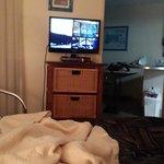 TV in Bedroom (One bedroom Plus Breakfast)