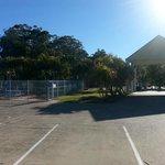 Pool & Carpark