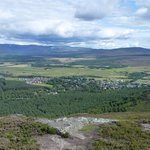 Kingussie from Creag Bheag