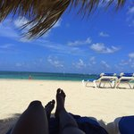 Relaxing on Play de Bavaro, The Level-Adults Only Beach area