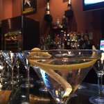 Perfect Vesper Cocktail - James Bond would be in heaven here.