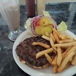 Enormous burger