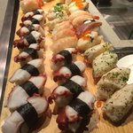 Sushi at the market restaurant hotel icon
