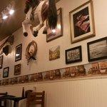 La parete del locale