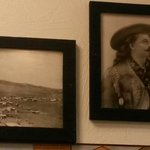 Alcune delle immagini appese alla parete ovviamente non poteva mancare Buffalo Bill