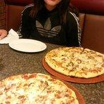 Ecco le due pizze
