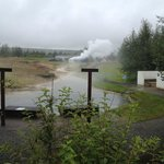 Geothermal Park - still a little steam in spite of many dry springs