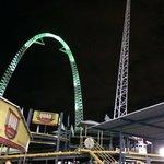 The sky coaster ( fantastic)