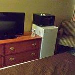 Dresser, Mini Fridge