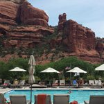 Devine view from Enchantment pool