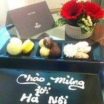 Welcome chocolate