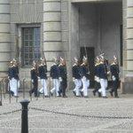 Kungliga Slottet , relève de la garde, 16.08.2014