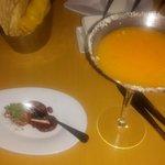 Mango Cocotini and mini Aloo bonda