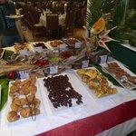 buffet trés varié