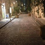 "internal street of ""infiorata"""