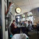 A l'intérieur du Café
