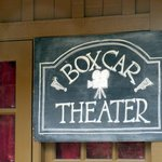 Box Car - Silent Movies - Prior to the Roaring Camp and Big Trees Narrow Gauge Railroad Ride, Fe