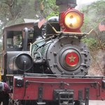 Engine - Narrow Gauge Railroad, Roaring Camp, Felton, Ca