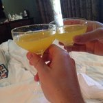 Breakfast cocktails...