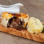 The Prince Edward Steak & Ale Pie.