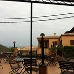 Frühstück und Restaurant Terrasse