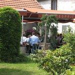 Terrasse du restaurant La Chalosse