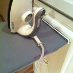 The iron was broken from before with just a light bulb protruding. 5 star amenities?