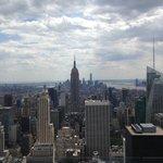 Вид на Empire State Building