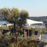 Terraza chill-out con vistas al mar