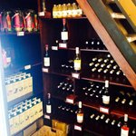 Affordable wine selection
