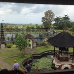 Amazing view from the Tirta Ayu, overlooking the water palace.
