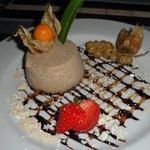 Délicieux dessert à base de crème de châtaigne