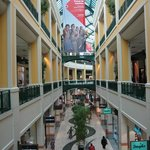 Beautiful shopping mall