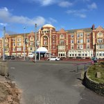 The hotel exterior taken from Queens Promenade on the 15th August 2014.