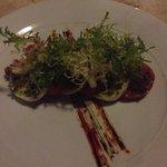 Giorgios Italian Restaurant at the Grand Aston - worth a visit! (Tricolore Starter)