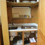 Kitchen in the cupboard!