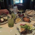 so much food)
