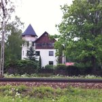 Beautiful homes along the track