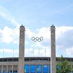 Olympiastadion olimpic rings