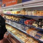quesos en la tienda