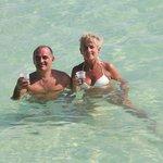 piscine naturelle a côté de Saona